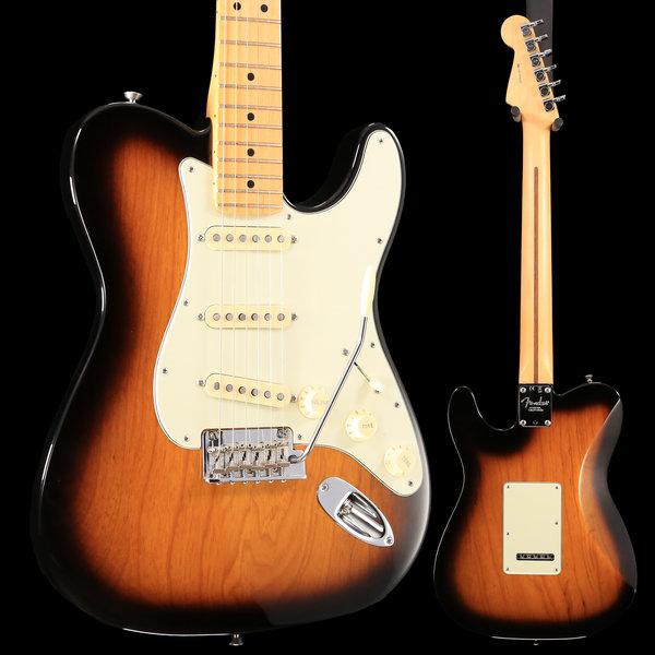 Fender Fender Limited Edition Strat-Tele Hybrid Maple Two Tone Sunburst S/N US17076224