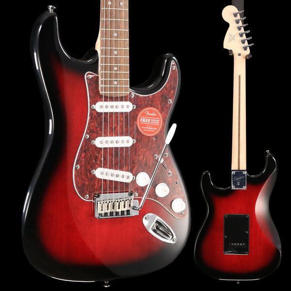 Squier Squier Standard Stratocaster, Laurel Fingerboard, Antique Burst S/N ICS18282840