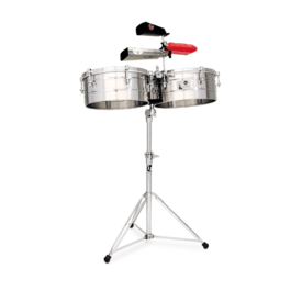 LP LP LP Series 14 15 Steel Timbales Stainless Steel LP257-S