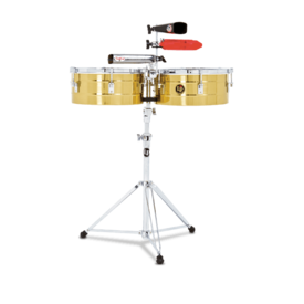 LP LP LP Series 13 14 Brass Timbales Brass LP256-B
