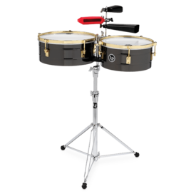 LP LP LP Series Arena Fciii Timbale Set 14/16 Black Nickel LP1416-R