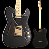 Fender Ltd. Ed. Deluxe Tele Thinline, Maple Fingerboard, Satin Black w/ Gold Hardware S/N MX18183952