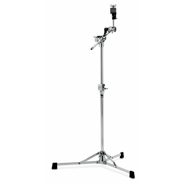 DW DROPSHIP DW 6000 Series Straight/Boom Cymbal Stand Flush Base Chrome DWCP6700