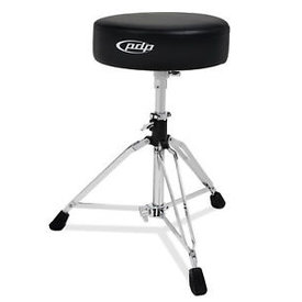PDP PDP 800 Series Drum Throne, Round Top Chrome PDDT800-04
