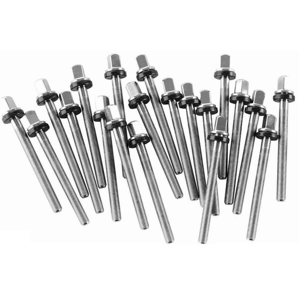"DW DROPSHIP DW 20 Pack Of Tp50 Rods For 6.5"" Snares W R Stainless Steel DWSMTP50S65"