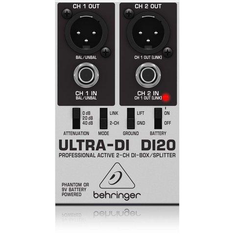 Behringer DI20 2-Channel DI-Box/Splitter