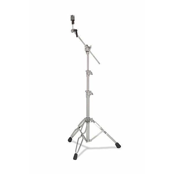 DW DROPSHIP DW 9000 Series Hvy Dty Low Straight-Boom Cymbal Stand Chrome DWCP9701