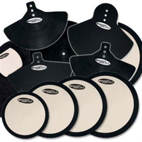 DW Smart Practice Complete Pad Set W/ Bd, Cym, Head Pads DWCPPADSET3