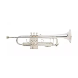 Bach Bach 180S37W1 Stradivarius 180 Series Profess Bb Trumpet #37 Bell, Silver Plated
