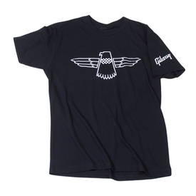 Gibson Gibson GA-TBVMLG Thunderbird T-Shirt (Black), Large