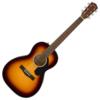 Fender CP-60S Parlor, Walnut Fingerboard, 3 Tone Sunburst