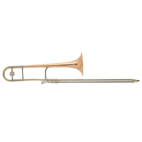 King 3BLG Legend Series Professional Tenor Trombone, Gold Brass Bell