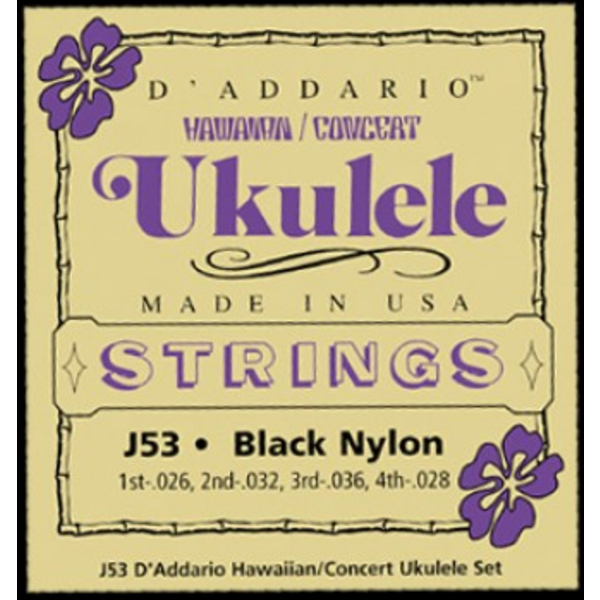 D'Addario D'Addario Hawaiian Ukulele Strings BNYL036