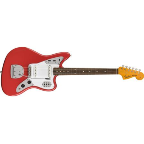 60s Jaguar Lacquer, Pau Ferro Fingerboard, Fiesta Red