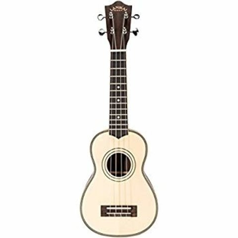 Lanikai Solid spruce top Rosewood back and side Soprano Ukulele