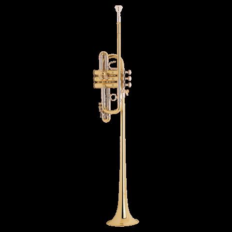 Bach B185S Stradivarius Professional Bb Triumphal Trumpet, Silver Plated