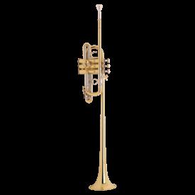 Bach Bach B188S Stradivarius Professional Bb Bass Trumpet, Silver Plated