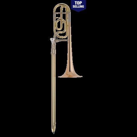 Conn 52HLSP Artist Series Performance Tenor Trombone w/ Lrg Shank, Silver Plated
