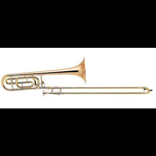 Bach Bach 42BGW6 Stradivarius Professional Tenor Trombone w/ F Rotor Traditional Wrap