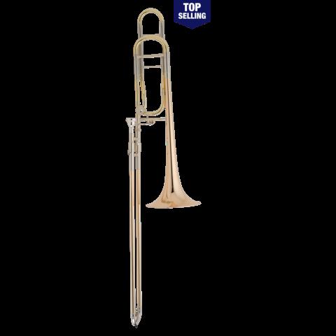 Conn 88HOSP Symphony Series Professional Tenor Trombone, Silver Plated