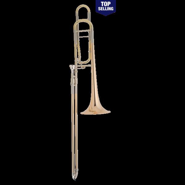 Conn Conn 88HOSP Symphony Series Professional Tenor Trombone, Silver Plated