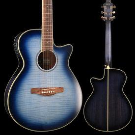 Ibanez Ibanez AEG20IIIBB AE Series - Indigo Blue Burst Gloss S/N PW181100688 4 lbs, 7.1 oz