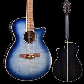 Ibanez Ibanez AEG20IIIBB AE Series - Indigo Blue Burst Gloss S/N PW181100691 4 lbs, 3.3 oz