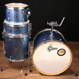 Gretsch Drums Gretsch Catalina Club 4 pc Shell Pack w/ 22'' Kick Blue Sparkle