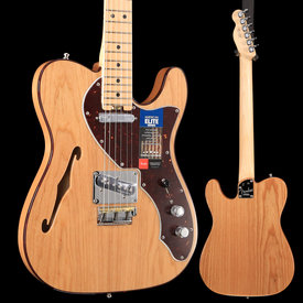Fender American Elite Telecaster Thinline, Maple Fingerboard, Natural S/N US19013265, 7lbs 2oz
