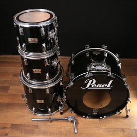 Pearl Used Pearl Drumset Black 4 Pc Shell Pack