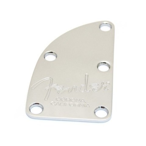 American Deluxe Bass 5-Bolt Neck Plate, Chrome