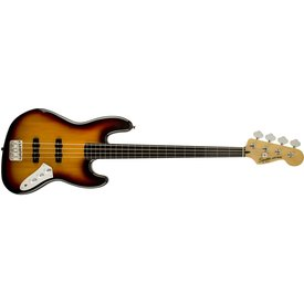 Squier Vintage Modified Jazz Bass Fretless, Ebonol Fingerboard, 3-Color Sunburst