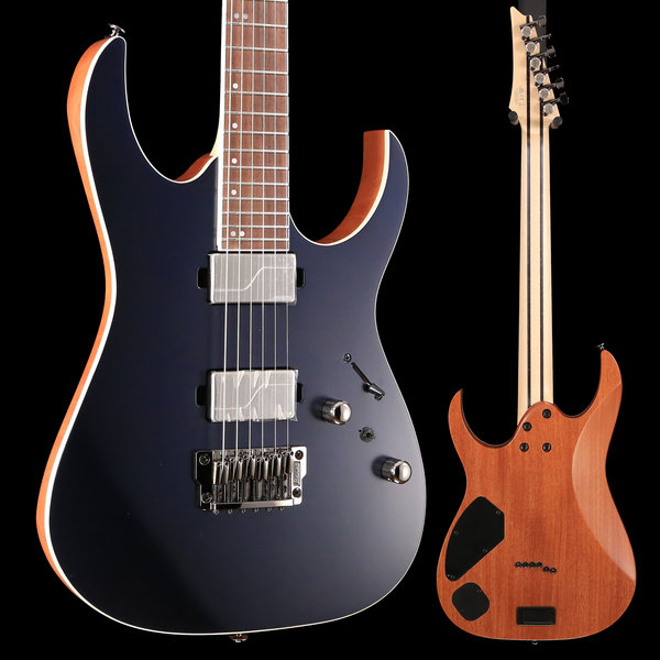 Ibanez Ibanez RG5121DBF RG Prestige 6str Electric Guitar w/Case - Dark Tide Blue Flat S/N 210001F1903450