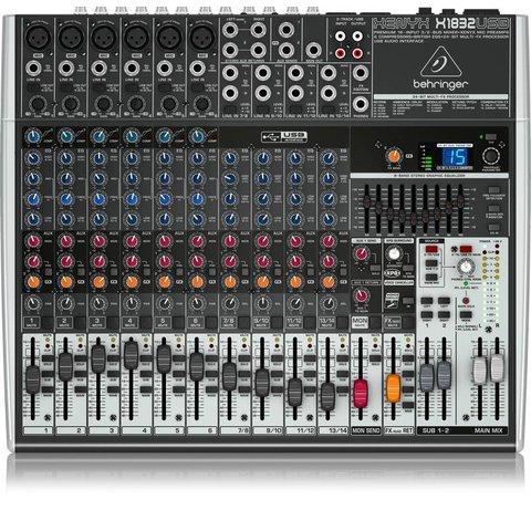 Behringer X1832USB 18-Input 3/2-Bus Mixer, XENYX