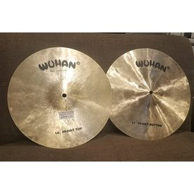 Wuhan Used Wuhan Hi-Hat Cymbals Pair