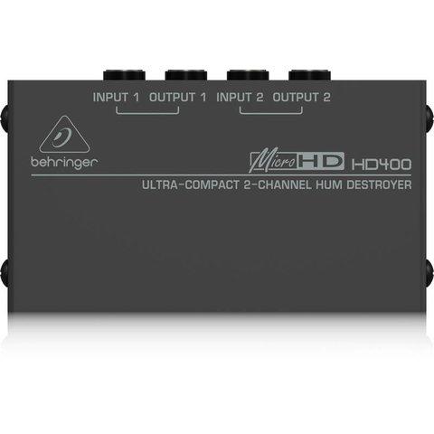 Behringer HD400 2-Channel Hum Destroyer