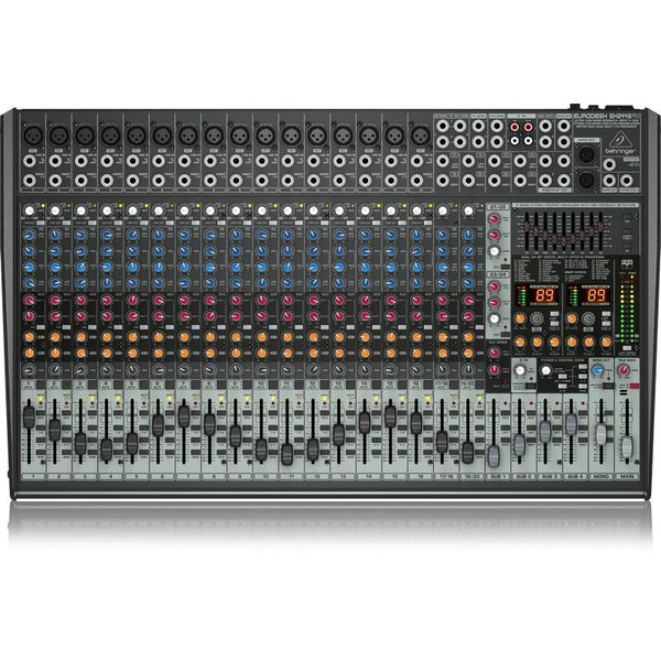 Behringer Behringer SX2442FX 24-Input 4-Bus Mixer, XENYX/EQ