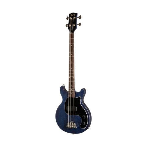 Gibson BAJDT00B2CH1 Les Paul Junior Tribute DC Bass 2020 Blue Stain