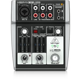 Behringer Behringer 302USB 5-Input Mixer, XENYX and USB