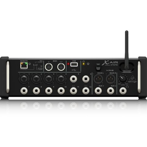 Behringer XR12 12-Input Digital Mixer, iPad