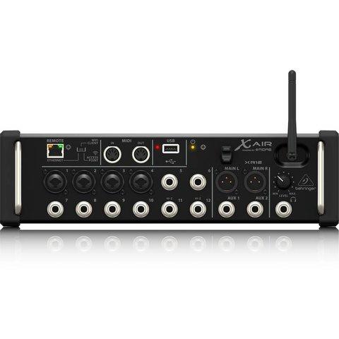 Behringer XR12 12-Input Digital Mixer, iPad