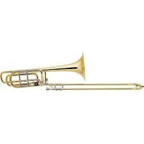 Bach 42AS Stradivarius Professional Tenor Trombone, Hagmann Valve, Silver Plated
