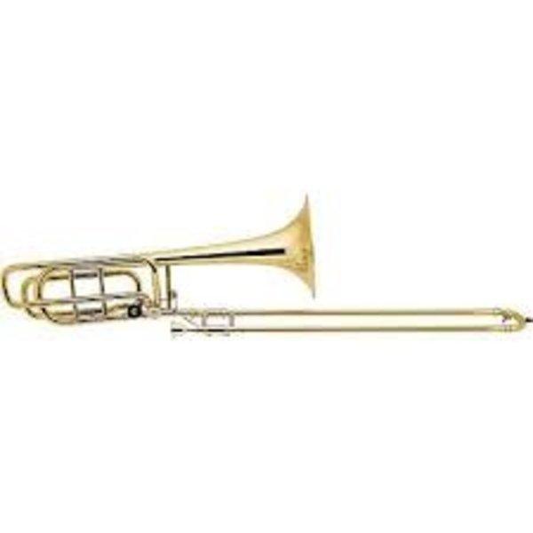 Bach Bach 42AS Stradivarius Professional Tenor Trombone, Hagmann Valve, Silver Plated