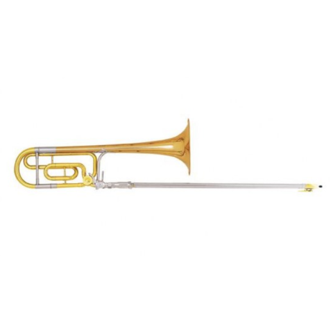 King 4BFSP Legend Series Professional Tenor Trombone, F Rotor, Silver Plated