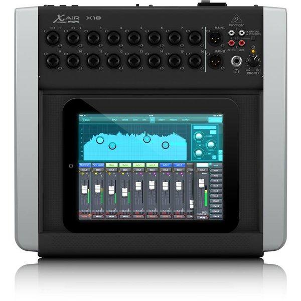 Behringer Behringer X18 18-Channel 12-Bus Mixer, iPad