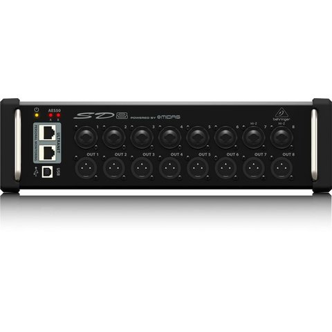 Behringer SD8 I/O Box 8-Preamps 8-Outputs