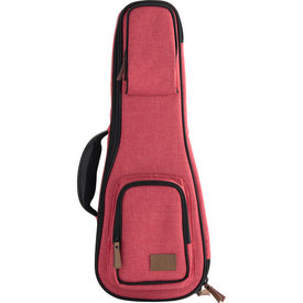 Kala Kala Baritone Sonoma Coast Collection Red Ukulele Case