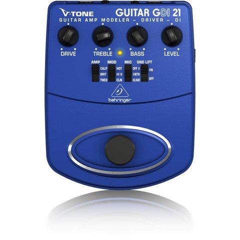 Behringer GDI21 Guitar Amp Modeler/Preamp/DI
