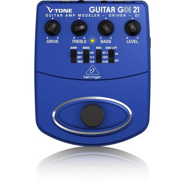 Behringer Behringer GDI21 Guitar Amp Modeler/Preamp/DI