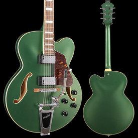 Ibanez Ibanez AFS75TMGF AFS Artcore 6str Electric Guitar  - Metallic Green Flat S/N PW18121530